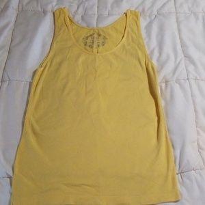 Catos Tank Top Yellow Large